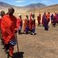 Danse des hommes Masaai