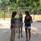 Avec le zèbre du Cheetah's Rock