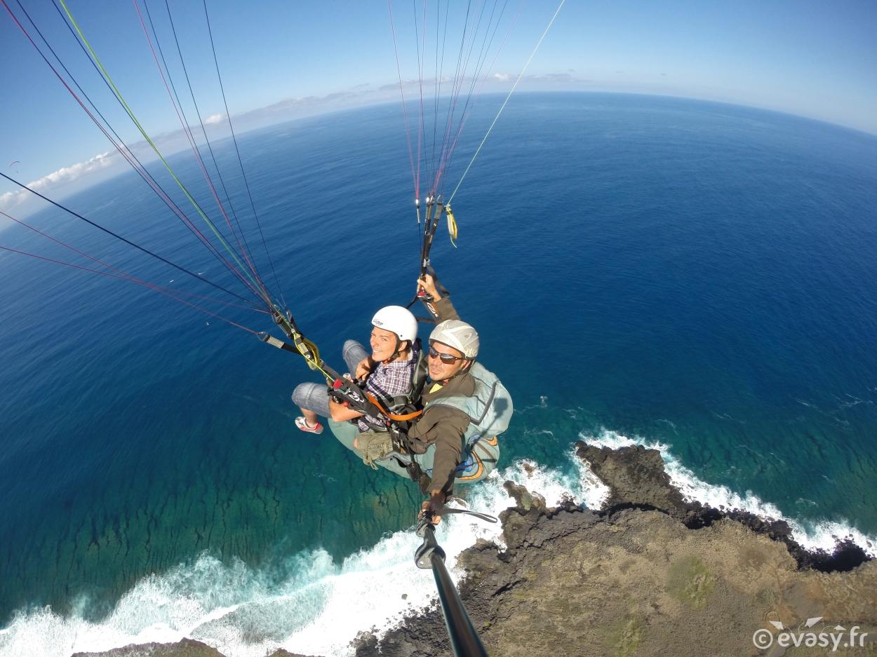Parapente à Saint-Leu à la Réunion