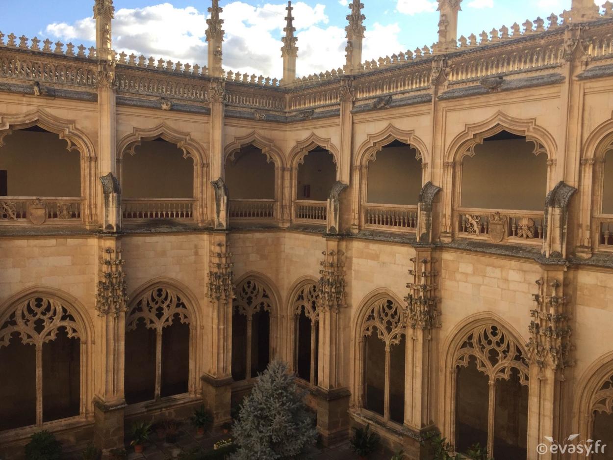 Le monastère San Juan Dos Reyes de Tolède