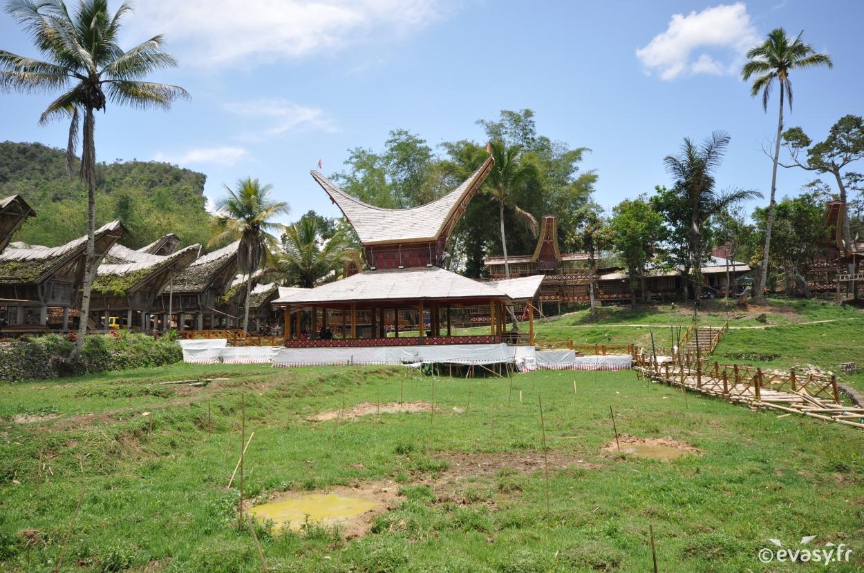 Village Toraja à Sulawesi